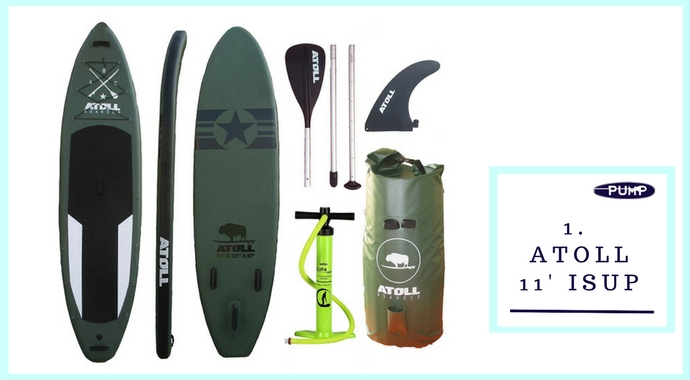 Atoll 11' Best Inflatable Paddle Board